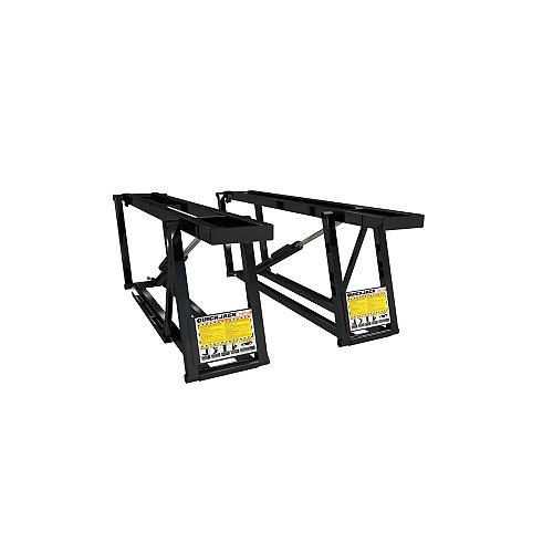 7,000 pounds Cap. Car lift with set of adapters and hooks