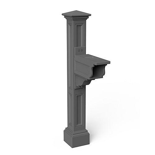 Poteau de boîte aux lettres Charleston Plus (gris graphite)