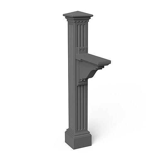 Poteau de boîte aux lettres Manchester (gris graphite)