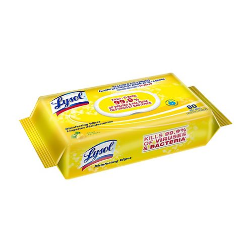 LYSOL Disinfecting Wipes  80ct Flatpack