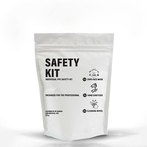 Individual PPE Safety Kit Canadian N95 (24 per case)