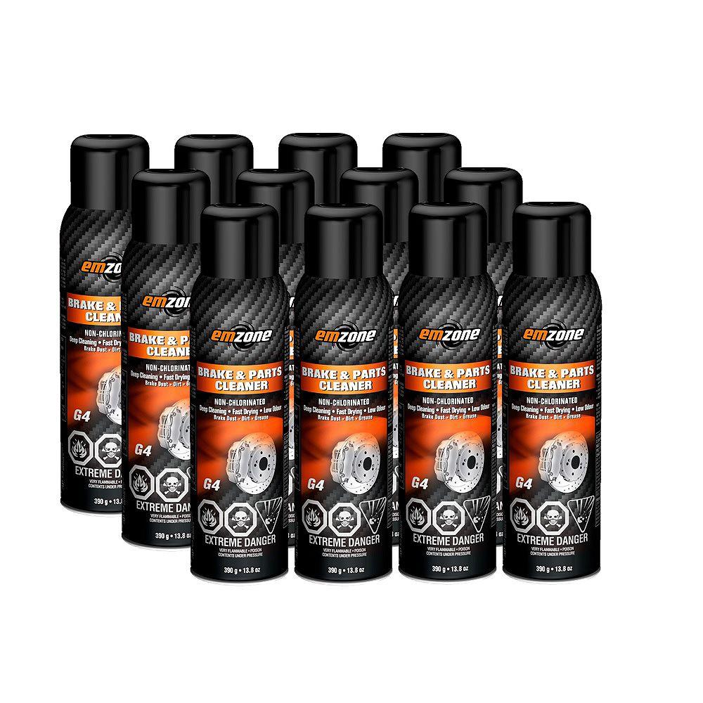 emzone Brake Cleaner Non-Chlor 390g, Case of 12