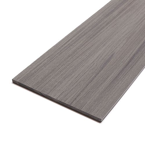 12 Ft. Composite Capped Fascia - Lakeview Grey - 11 1/4 In. x 1/2 In.