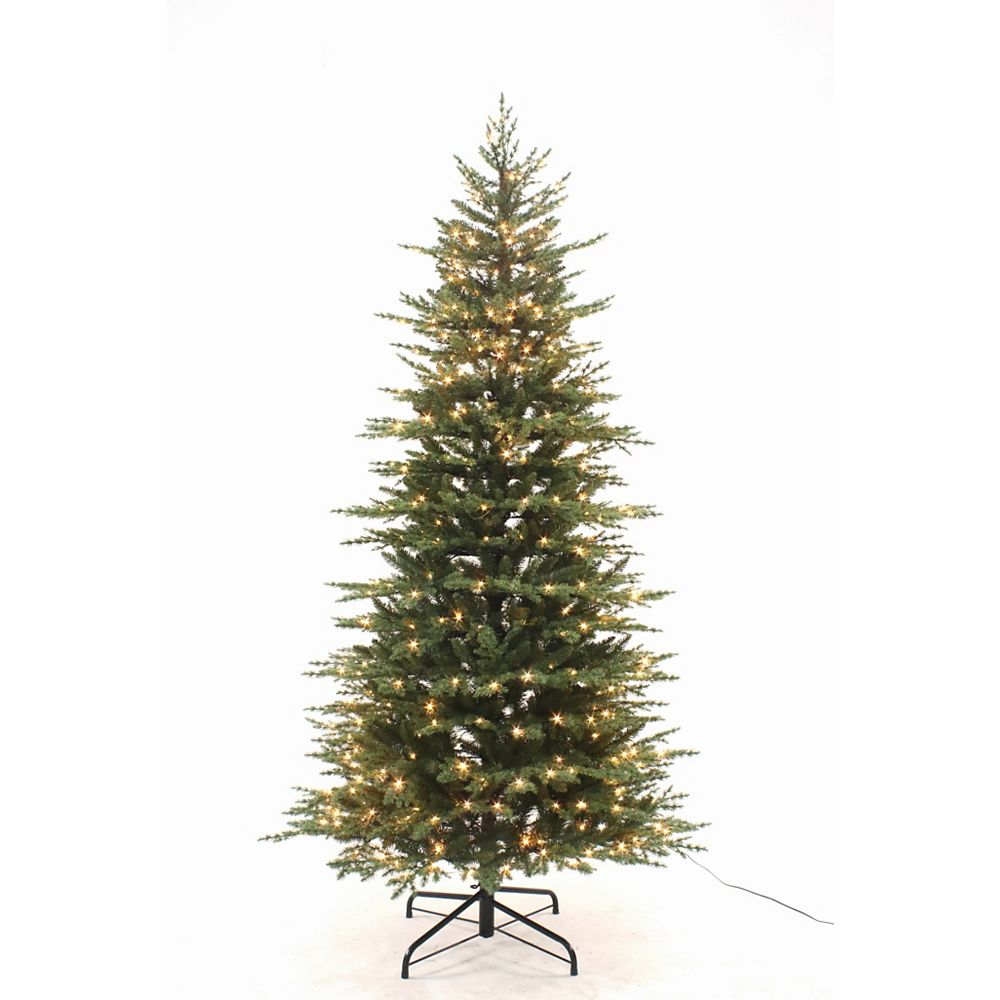 Home Accents Holiday 7.5FT Westcliff Norway Spruce Slim