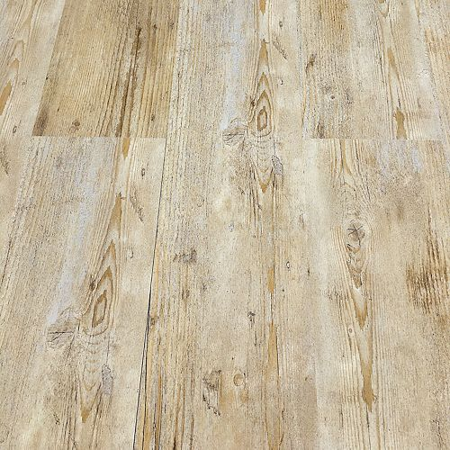 Deco Products HYDROSTOP Caribbean Beach Floor and Wall 7.2 in. x 48 in. Vinyl Plank (24.00 sq.ft./case)