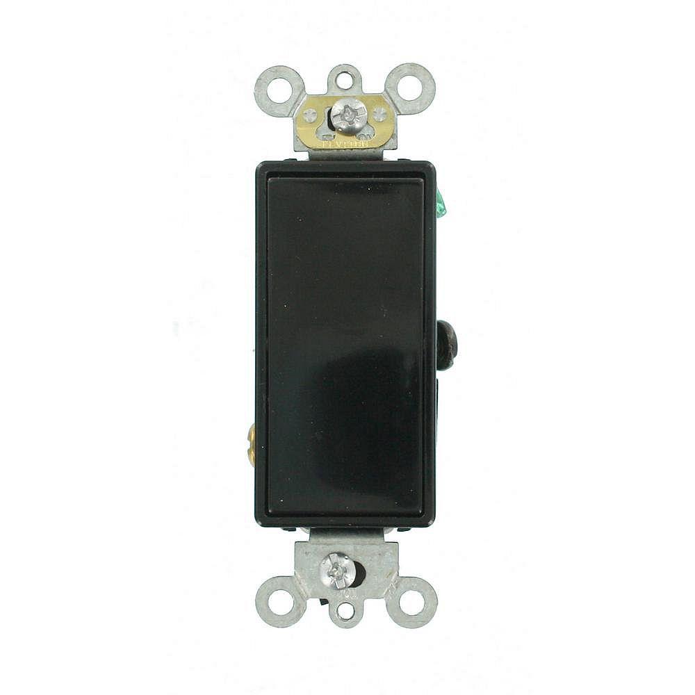 Leviton Decora 20A Switch 3-WayCommercial Grade, Black
