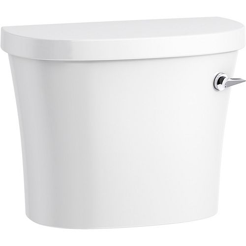Kingston 1.28 Gpf Toilet Tank with Class Five Flushing Technology and Right-hand Trip Lever