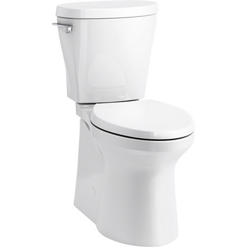 Betello Comfort Height Two-piece Elongated 1.28 Gpf Toilet With Skirted Trapway