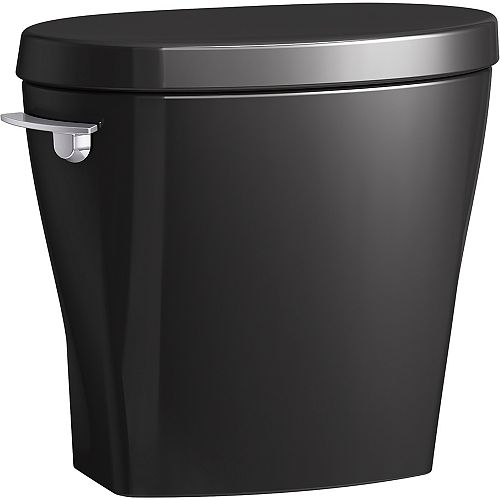 Betello with Continuousclean 1.28 Gpf Toilet Tank in Black Black
