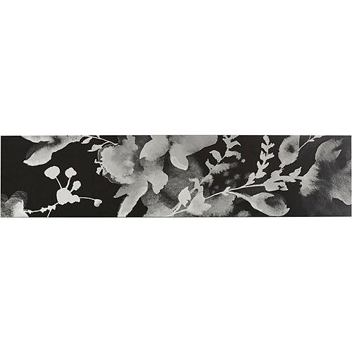 Tailor 34-3/4-inch Flora insert in Flora Black