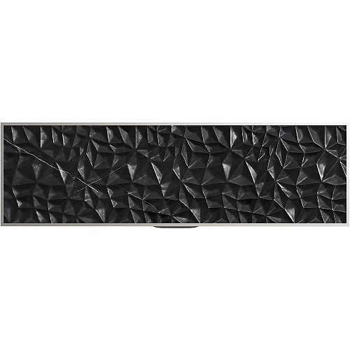 Tailor 28-3/4-inch Carved Stone insert in Nero Marquina Marble
