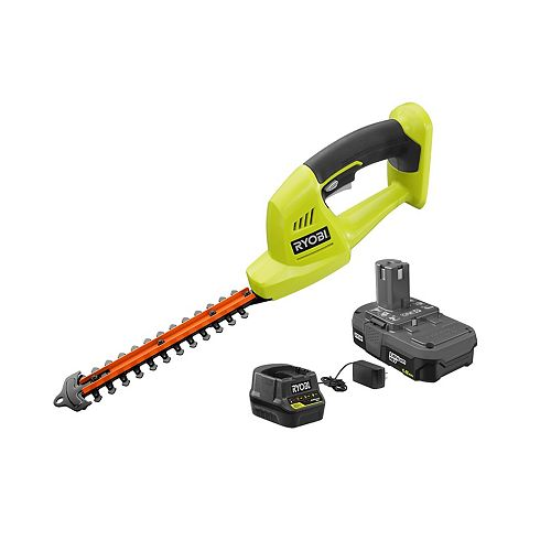 18V ONE+ Lithium-Ion Cordless Grass Shrubber Kit with 1.5 Ah Battery and Charger