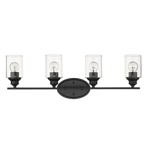 Applique Gemma 4 ampoules Noir
