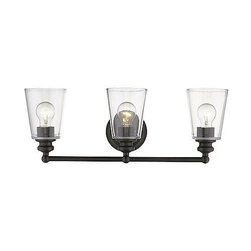 Applique Ceil à 3 ampoules en Bronze