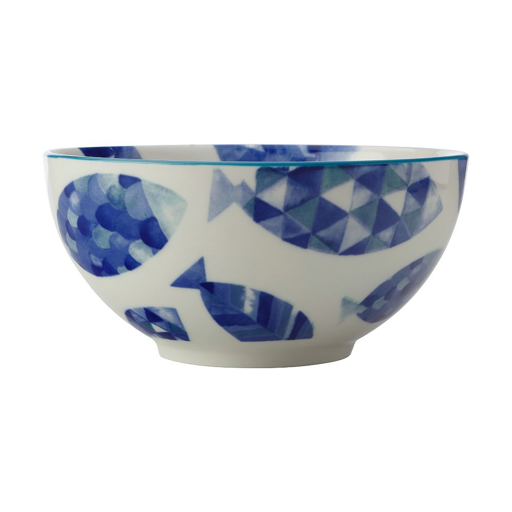 Maxwell & Williams Reef Fish Bowl 15 cm - Pack of 4