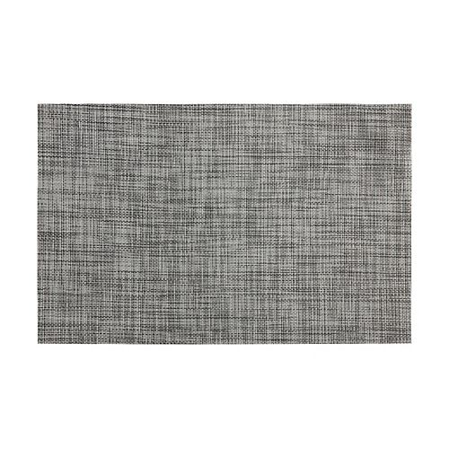 Crosshatch Grey Placemat - Pack of 12