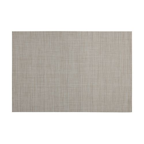 Crosshatch Taupe Placemat - Pack of 12