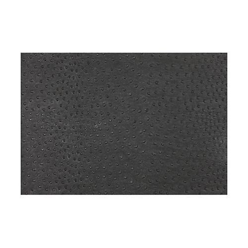 Ostrich Black Placemat - Pack of 12