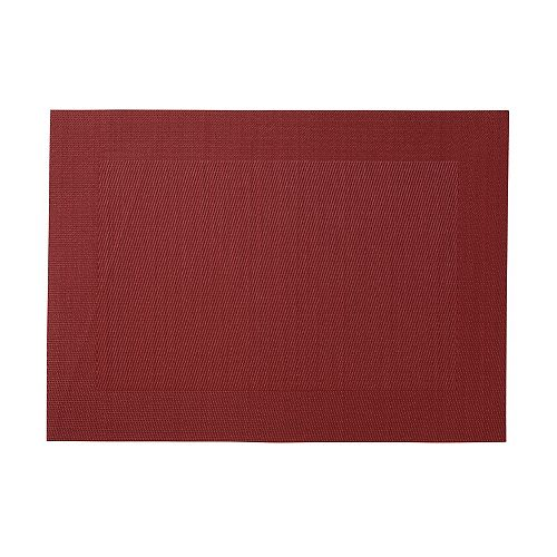 Border Red Placemat - Pack of 12