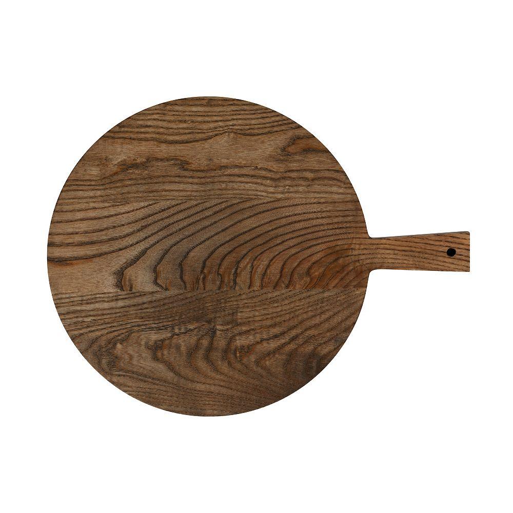 Maxwell & Williams Elemental Ash Wood round paddle board 43 cm