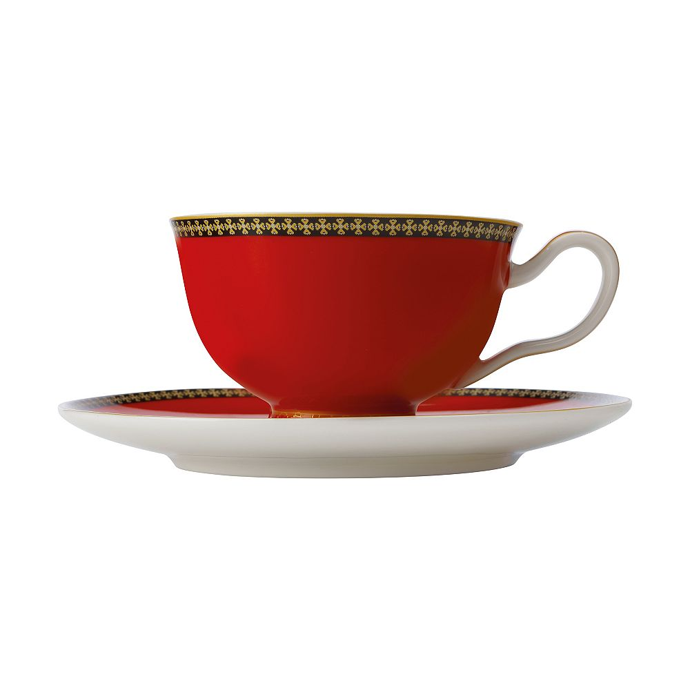 Maxwell & Williams T&C's Contessa Classic Red cup and saucer 200 ml - Pack 2