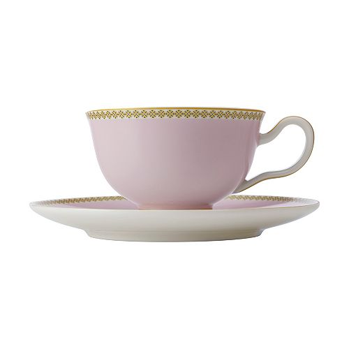 T&C's Contessa Classic Rose cup and saucer 200 ml - Pack 2