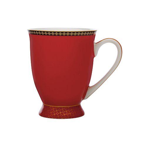 T&C's Contessa Classic Red mug 300 ml - Pack 4