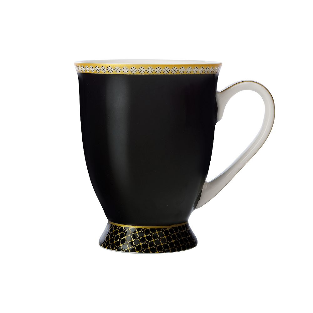 Maxwell & Williams T&C's Contessa Classic Black mug 300 ml - Pack 4
