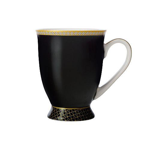 T&C's Contessa Classic Black mug 300 ml - Pack 4