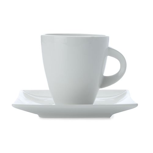 West Meets East Teacup & Saucer 200 ml - Pack of 4