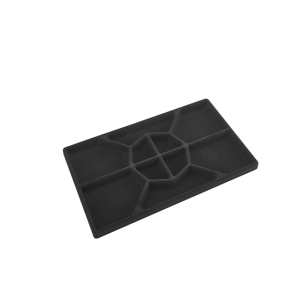Rev-A-Shelf 22 in (559 mm) Jewelry Drawer Standard Insert, Black