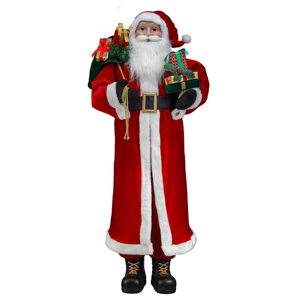 Home Accents Holiday 5 ft. Standing Santa Christmas Decoration