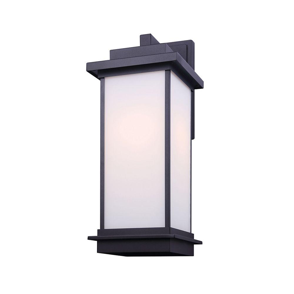 "Canarm Ltd Akello 20"" Black Outdoor Wall Light"