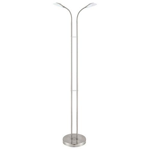 Canetal 1 50-inch Matte Nickel LED Floor Lamp with Gooseneck