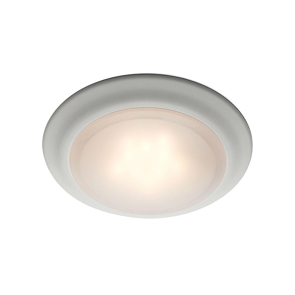 Bel Air Lighting Vanowen 7.5 in. 15-Watt White Integrated LED Flush Mount