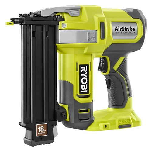 18V ONE+ AirStrike 18-Gauge Cordless Lithium-Ion Brad Nailer (Tool-Only)