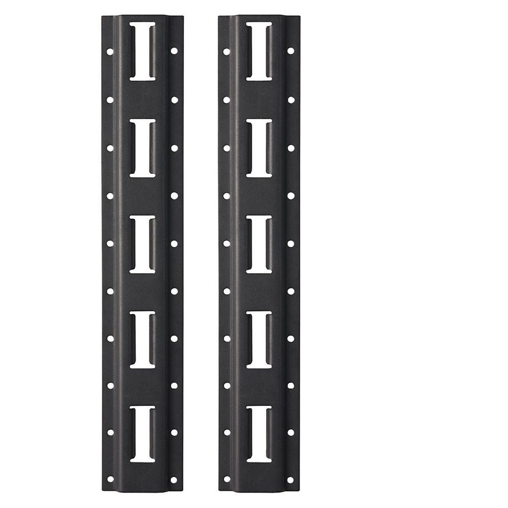 Milwaukee Tool 2pc. Vertical E-Track for PACKOUT Racking Shelves