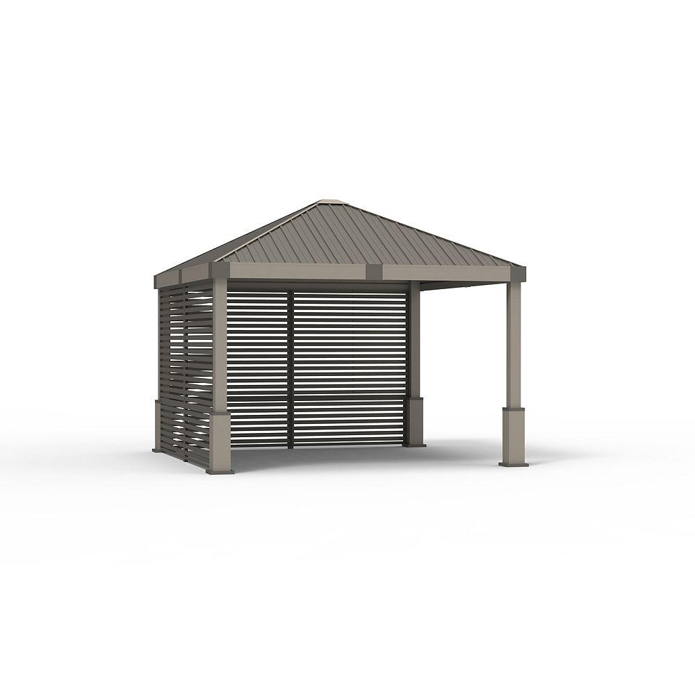 Sojag Nanda 12 ft.x 12 ft. Sun Shelter in Beige