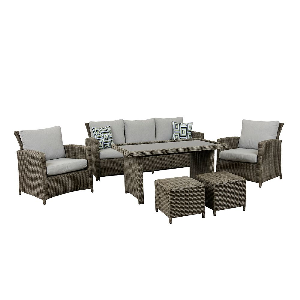Think Patio Greymont 6PC High Table