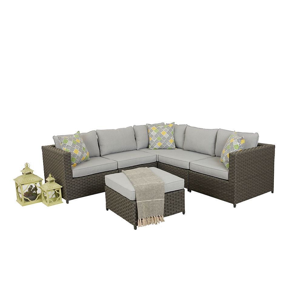 Think Patio Scottsdale 6PC Sectional