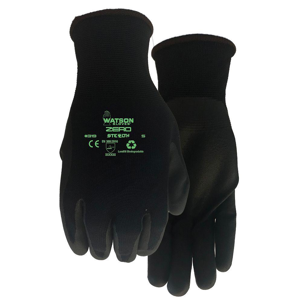 Watson Gloves Stealth Zero Landfill Biodegradable ZeroWaste Seamless Knit Glove - XXLarge
