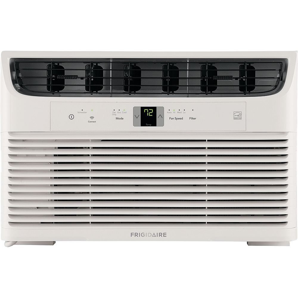 Frigidaire 6000 BTU Window-Mounted Room Air Conditioner with Wi-Fi in White
