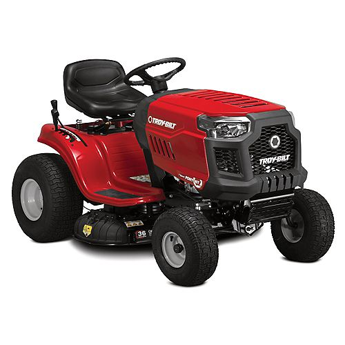36-inch 382cc Powermore 7 Speed Gas Lawn Tractor with Mow in Reverse and Electric Start