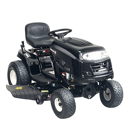 42-inch 439cc Powermore Engine 7 Speed Gas Lawn Tractor with Electric Start (Attachment Capable)