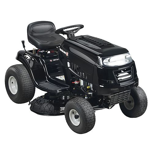 36-inch 439cc Powermore Engine 7 Speed Gas Lawn Tractor with Electric Start (Attachment Capable)