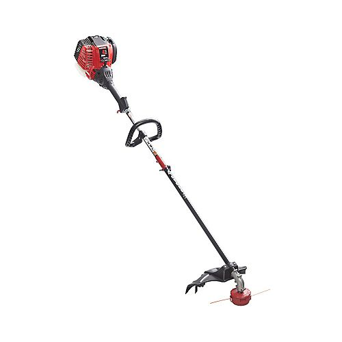 29cc 4-Cycle Straight Shaft Gas Trimmer and Weed Eater with 2 Trimmer Lines (Attachment Capable)