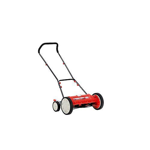 16-inch Manual Walk Behind Reel Lawn Mower