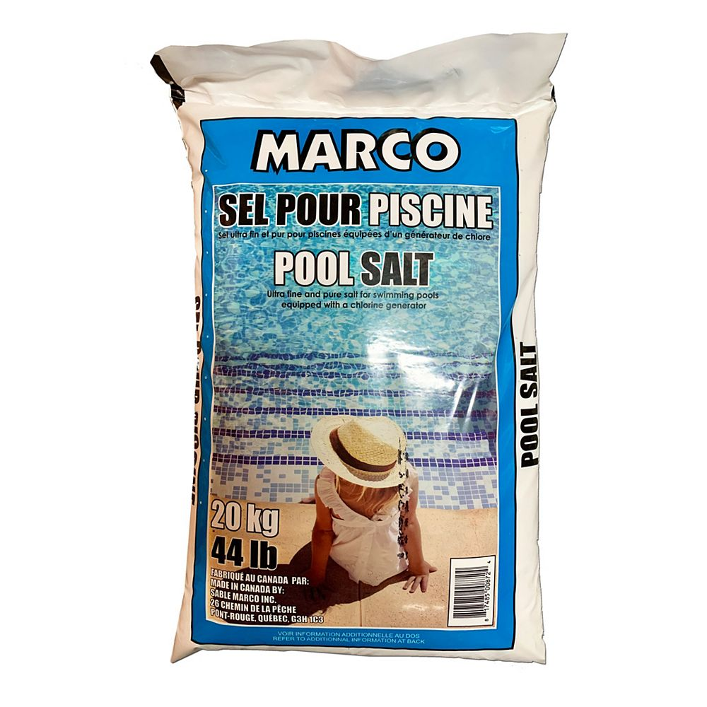 Sable Marco Marco Pool Salt 44lbs 20kg The Home Depot Canada