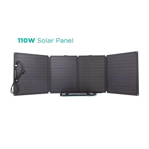 EcoFlow 110W Solar Panel Charger