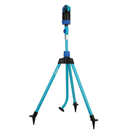 Indestructible Turbo Drive 360 Degree Telescoping Tripod Lawn and Garden Sprinkler/Mister